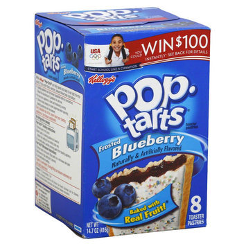 Kellogg's Pop-Tarts Frosted Blueberry Toaster Pastries 8 pk
