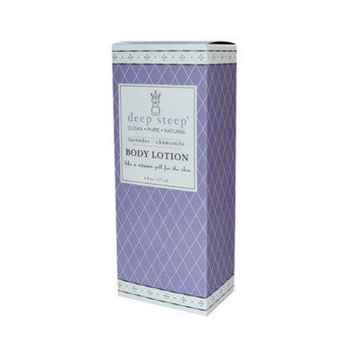 Deep Steep Body Lotion Lavender Chamomile