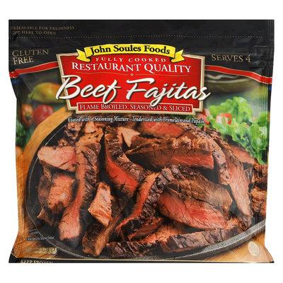 John Soules Foods Fully Cooked Beef Fajitas 12 oz