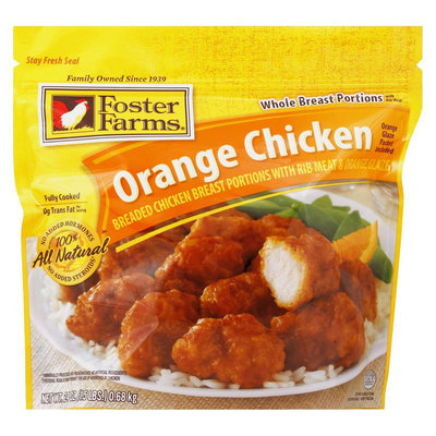 Foster Farms Orange Breaded Chicken 24 oz