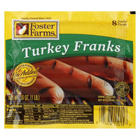 Foster Farms Turkey Franks 16 oz