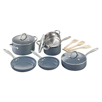 Green Pan 12 pc Lima Cookware Set