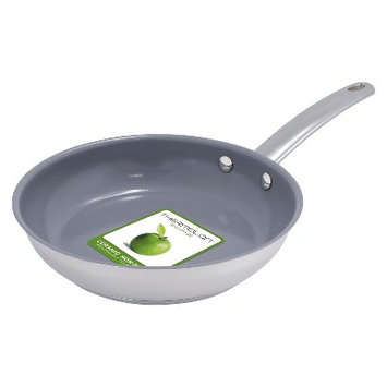 Green Pan 8 in Frypan Miami Stainless Steel
