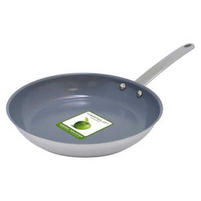 Green Pan 10 in Frypan Miami Stainless Steel