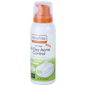 AcneFree All-Day Acne Control Foam