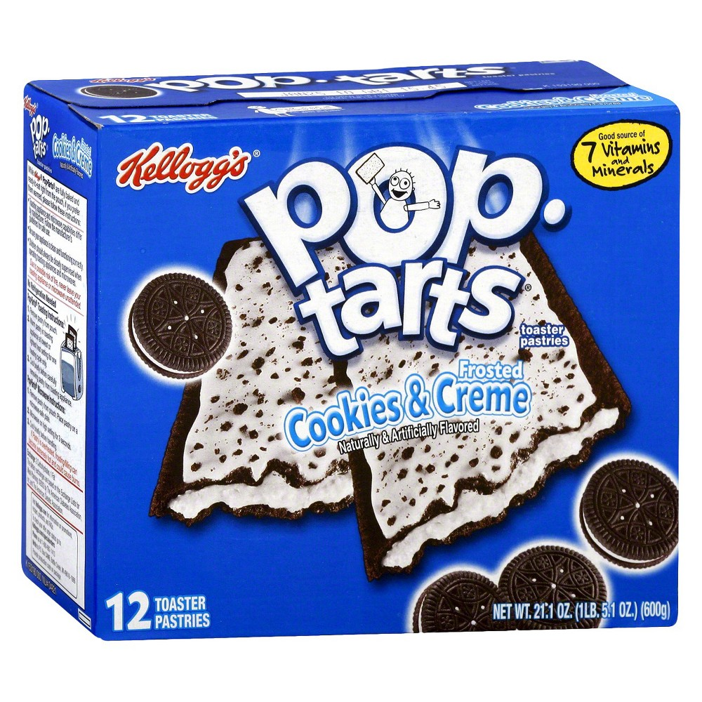 Kellogg's Pop-Tarts Frosted Cookies & Creme Pastries 12 ct