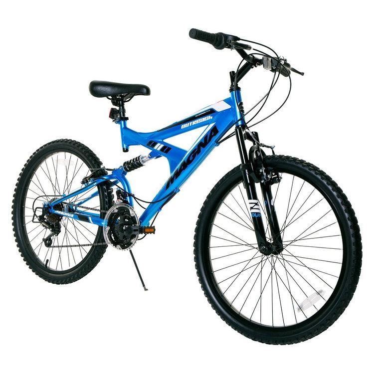 """Boy's Magna Outreach Bike - Blue (24"""")"""