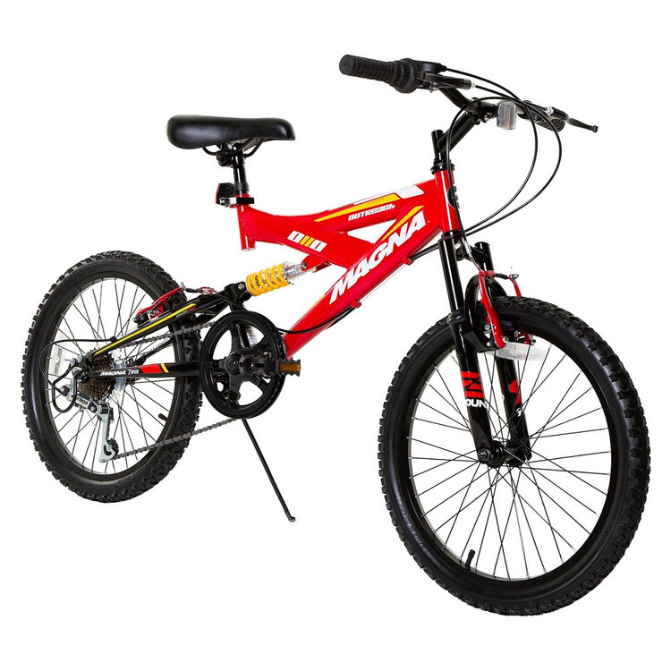 "Boy's Magna Outreach Bike - Red (20"")"