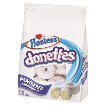 Hostess Donettes Powdered Mini Donuts