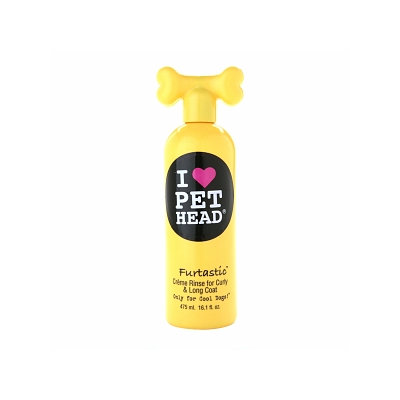Pet Head Furtastic Creme Rinse for Curly & Long Coat