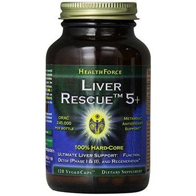 Healthforce Liver Rescue 5+, 120 Count
