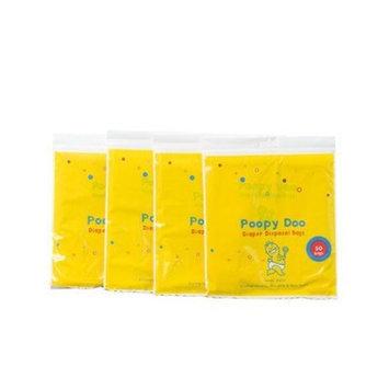 Poopy Doo Diaper Disposal Bags - One Pack / 50 Bags Per Pack