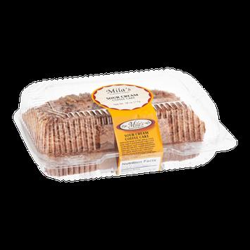 Mila's European Bakery Coffee Cake Sour Cream