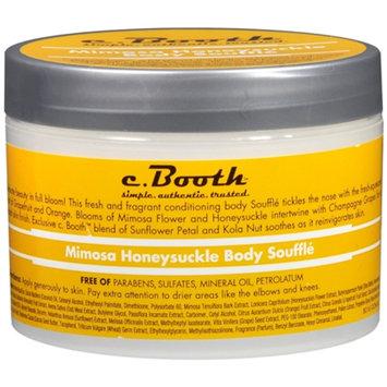 c. Booth Body Souffle, Mimosa Honeysuckle, 8 oz