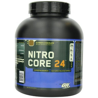 Optimum Nutrition Nitrocore 24, Ultimate Chocolate, 6 Pound