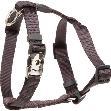 Aspen Pet by Petmate Deluxe Signature Coal Single Ply Nylon Harness, Small