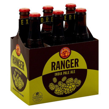 New Belgium Ranger India Pale Ale Beer Bottles 12 oz, 6 pk