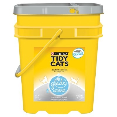 Purina Tidy Cats Tidy Cats with Glade Scoop Cat Litter Pail - 35 lb