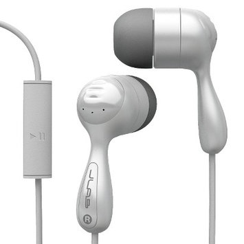 JLab JBuds In-Ear Headphones with Mic - White