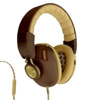 JLab Bombora Over-Ear Headphones - Brown