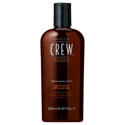 American Crew Classic Light Hold Styling Gel for Men - 8.45 oz