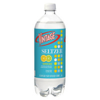 Vintage Lemon Lime Seltzer Water 33.8 oz