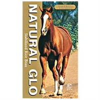 Tural Dog NATURAL GLO 025001 40 lbs. Rice Bran Meal for Horses