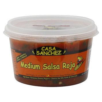 Casa Sanchez Roja Medium Salsa 15OZ