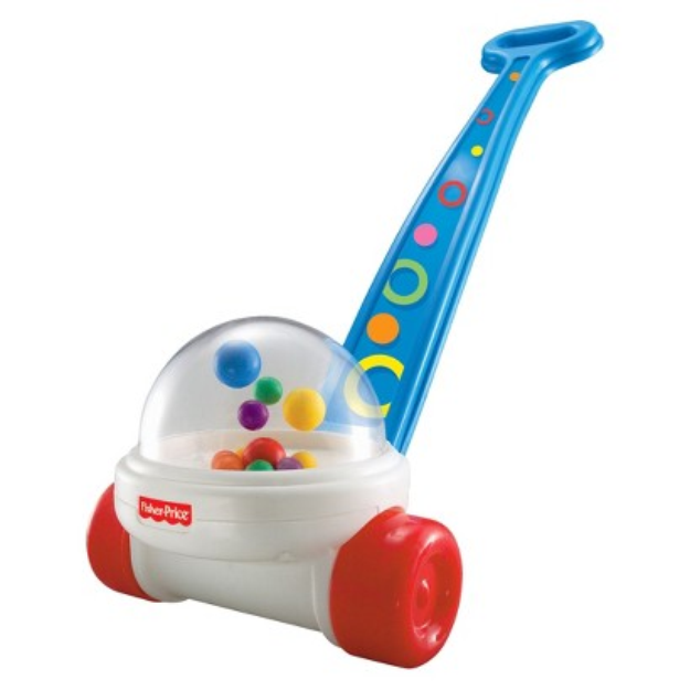 Fisher-Price Brilliant Basics Corn Popper Push Toy