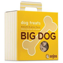 Sojo S Sojos BG12 Big Dog Treats Biscuits & Gravy