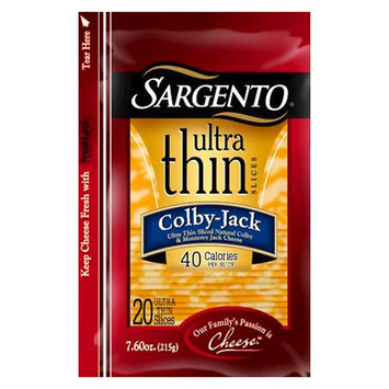 Sargento® Ultra Thin® Colby-Jack Cheese Slices