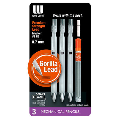 Mega Brands Write Dudes 3ct Mechanical Pencil
