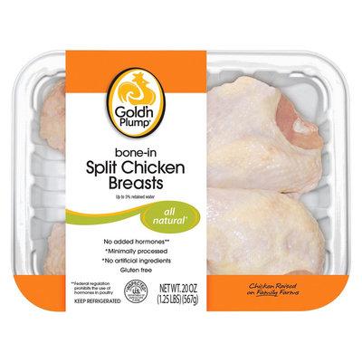 Gold'n Plump All Natural Bone-in Split Chicken Breasts (20 oz.)