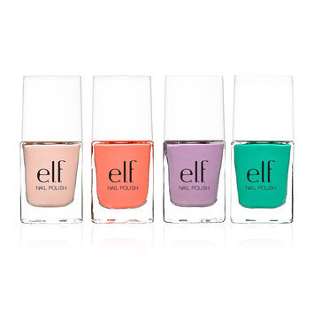 E.l.f. Cosmetics e.l.f. Essential Beauty School 4-Piece Nail Polish