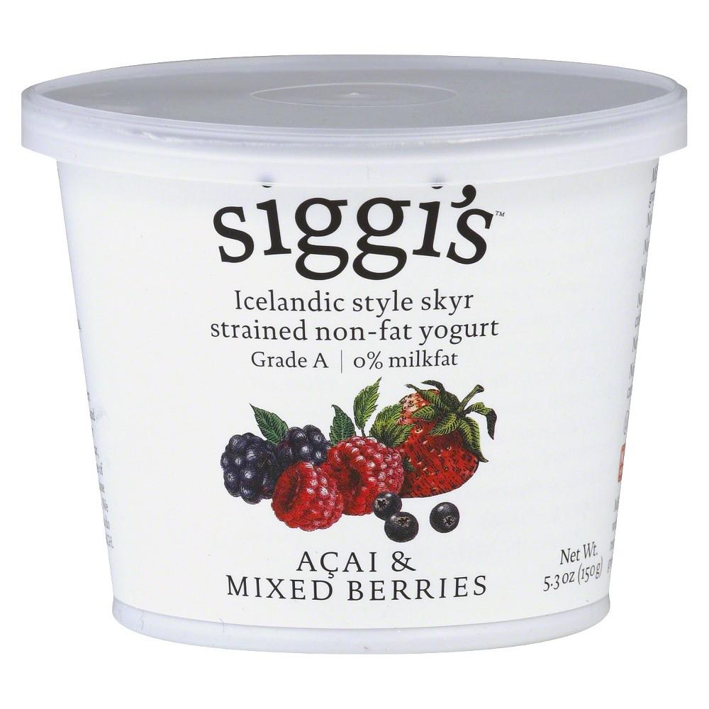 Siggi's Yogurt Non-Fat Acai & Mixed Berries