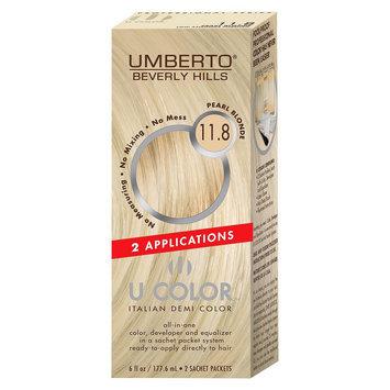 Umberto Beverly Hills U Color Italian Demi Hair Color - Pearl Blonde