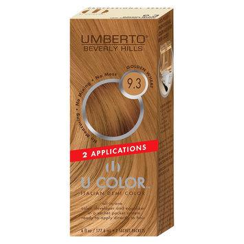 Umberto Beverly Hills U Color Italian Demi Hair Color - Golden Wheat