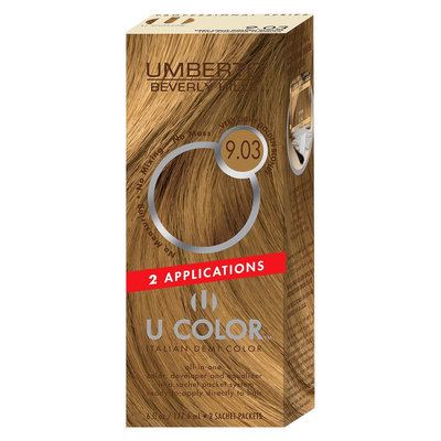 Umberto Beverly Hills U Color Italian Demi Hair Color - Very Light