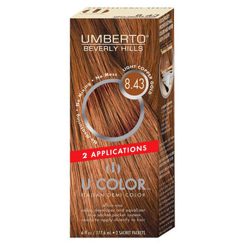 Umberto Beverly Hills U Color Italian Demi Hair Color - Light Copper