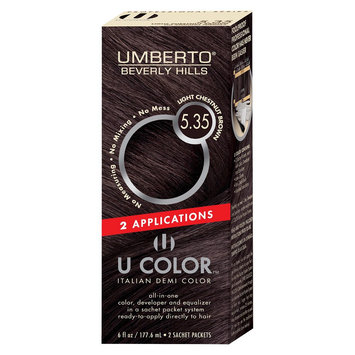 Umberto Beverly Hills U Color Italian Demi Hair Color - Light