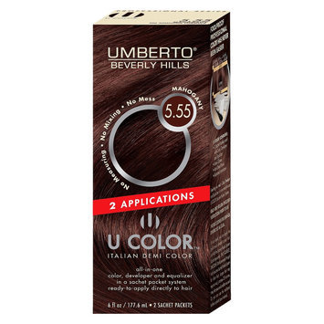Umberto Beverly Hills U Color Italian Demi Hair Color - Mahogany 5.55