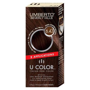 Umberto Beverly Hills U Color Italian Demi Hair Color - Dark Copper