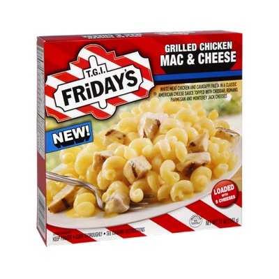 T.G.I. Friday's Grilled Chicken Mac & Cheese