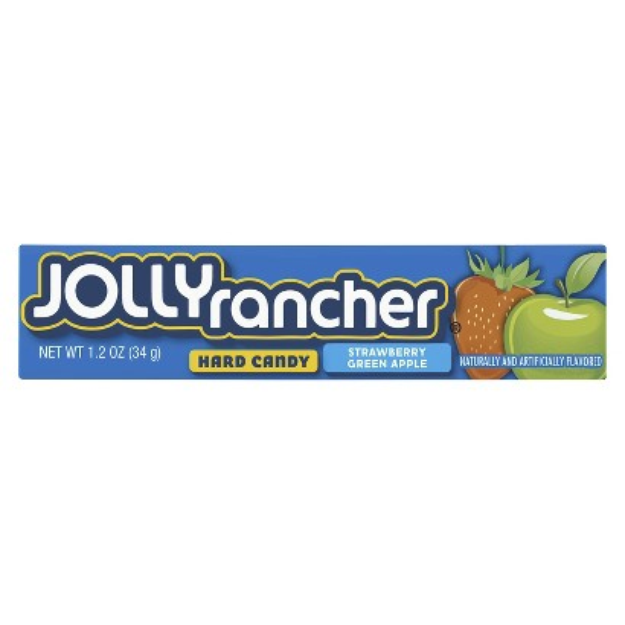 Jolly Rancher Strawberry & Green Apple Flavored Hard Candy
