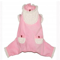 Hip Doggie HD-10PSTY-XS Extra Small Pink Sweety Jumper