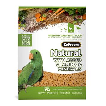 Premium Nutritional Products ZU93200 3 lb. Maint Natural Parrot-Conure