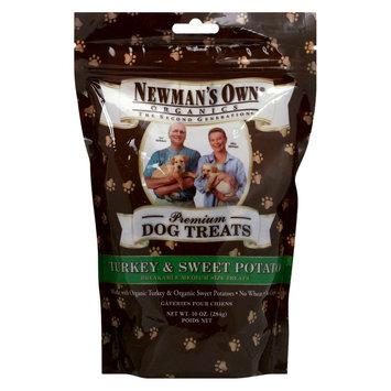 Newman's Owns Organics Premium Dog Treats Turkey & Sweet Potato 10 oz