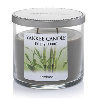 Yankee Candle simply home 10-oz. Bamboo Jar Candle (Green)