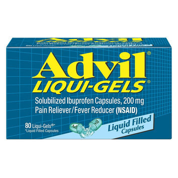 Advil Pain Reliever and Fever Reducer Liqui-Gels - 80 Count
