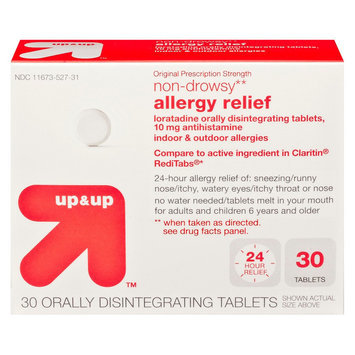 up & up Non-Drowsy 10 mg Allergy Relief Tablets - 30 Count